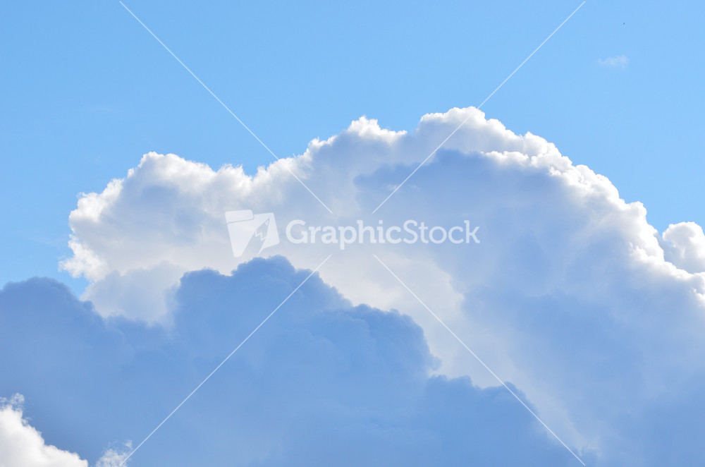 blue sky red sunset white clouds essay
