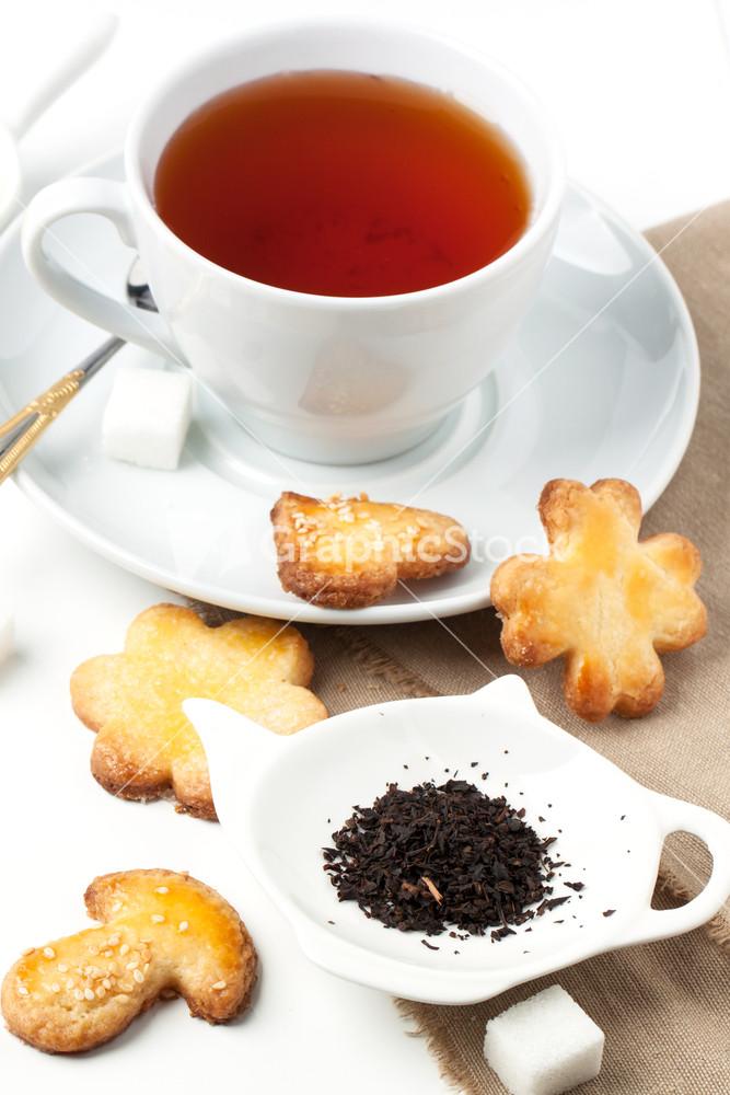 Чай с сахаром и сердце
