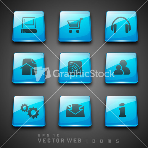 Collection Of Organic Labels And Icons Stock Image