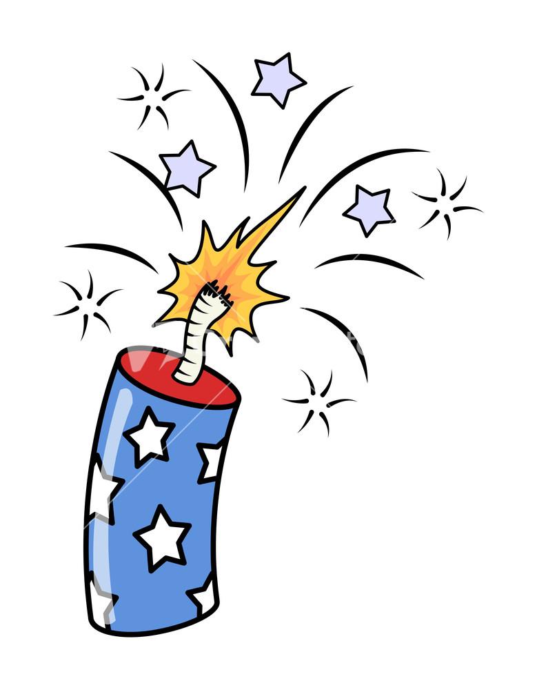 4th of july fireworks exploding firecrackers vector stock firecracker clip art black firecracker clip art black & white
