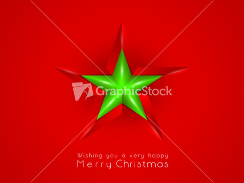 Abstract Red Star Background Stock Image