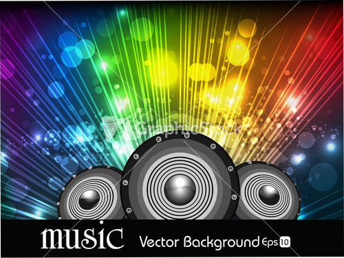 HÌNH NHẠC Abstract-music-background-in-multi-colors-rays-and-spekers_f1YBbFo__S