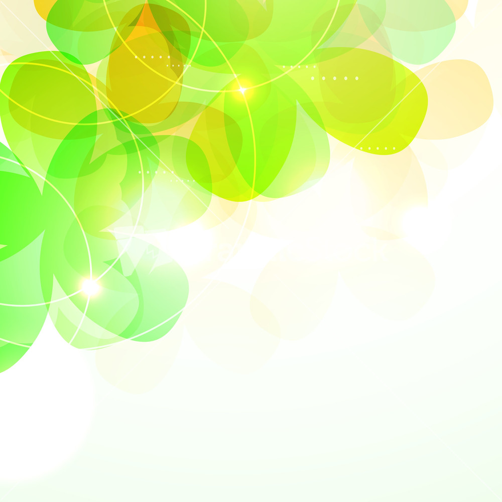 abstract nature background with eco green leaves