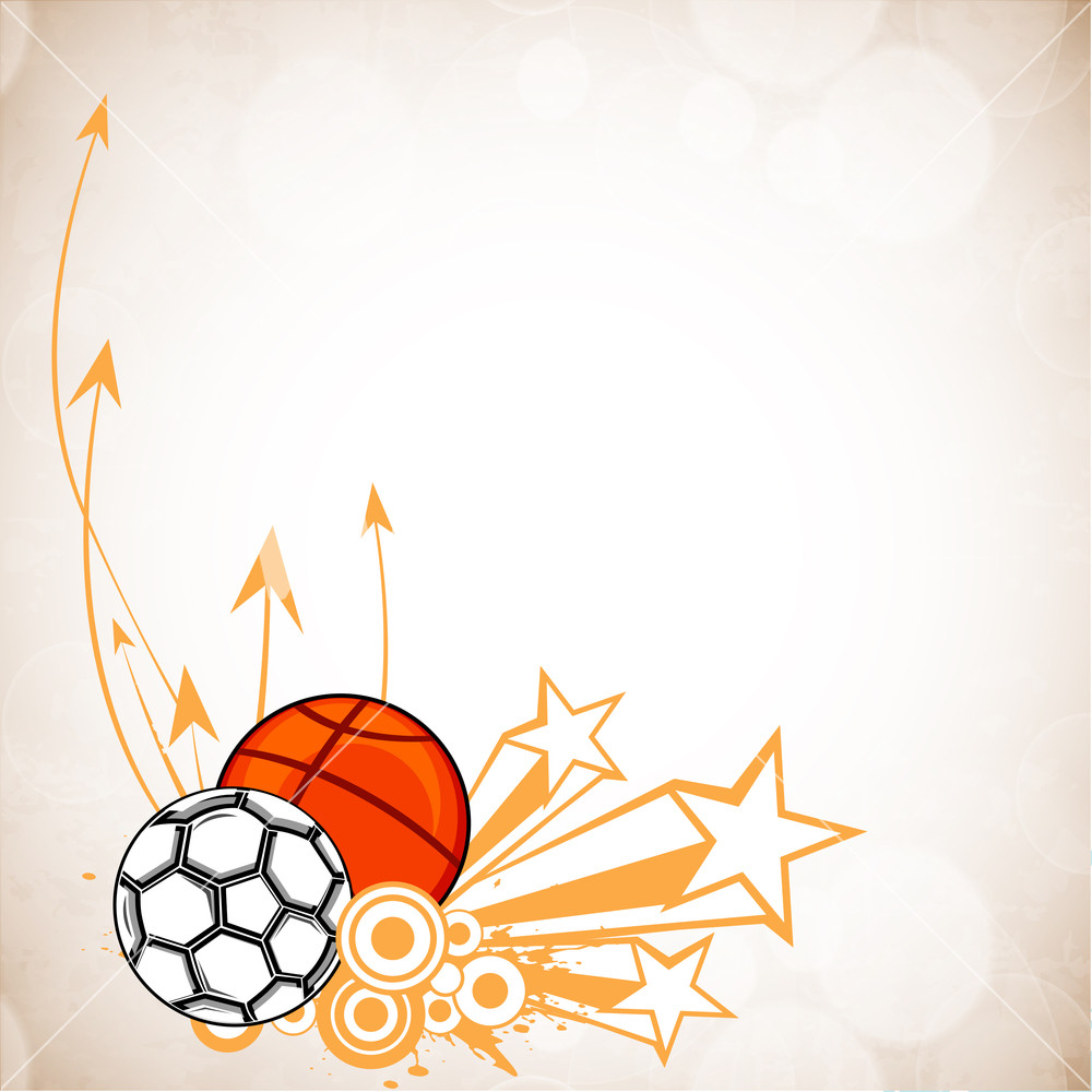 Abstract Sports Background. Stock Image