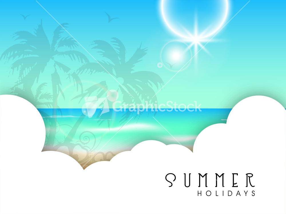 Summer Abstract: Abstract Summer Background