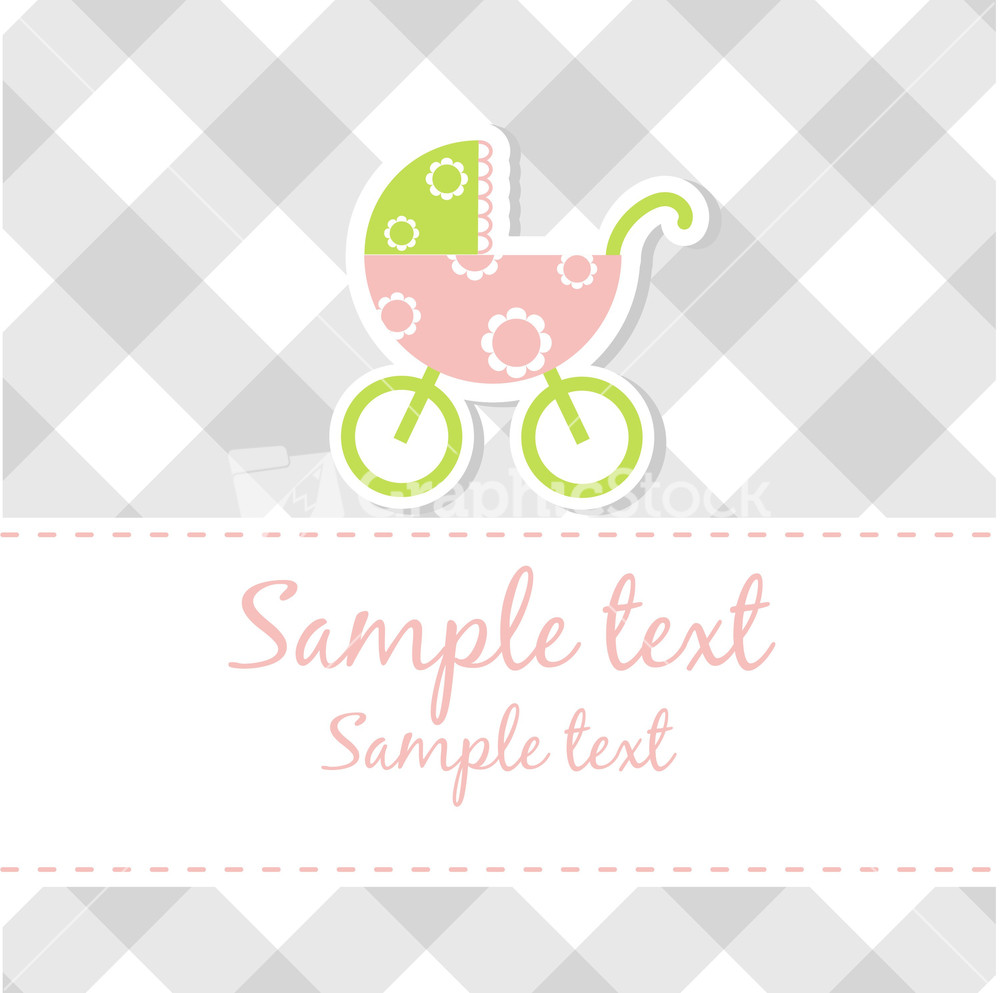 Baby boy arrival card vector by leonart image 600444 vectorstock - Baby Boy Arrival Announcement Card Stock Image Wallpaper Gallery Baby Boy Shower Card Arrival Card