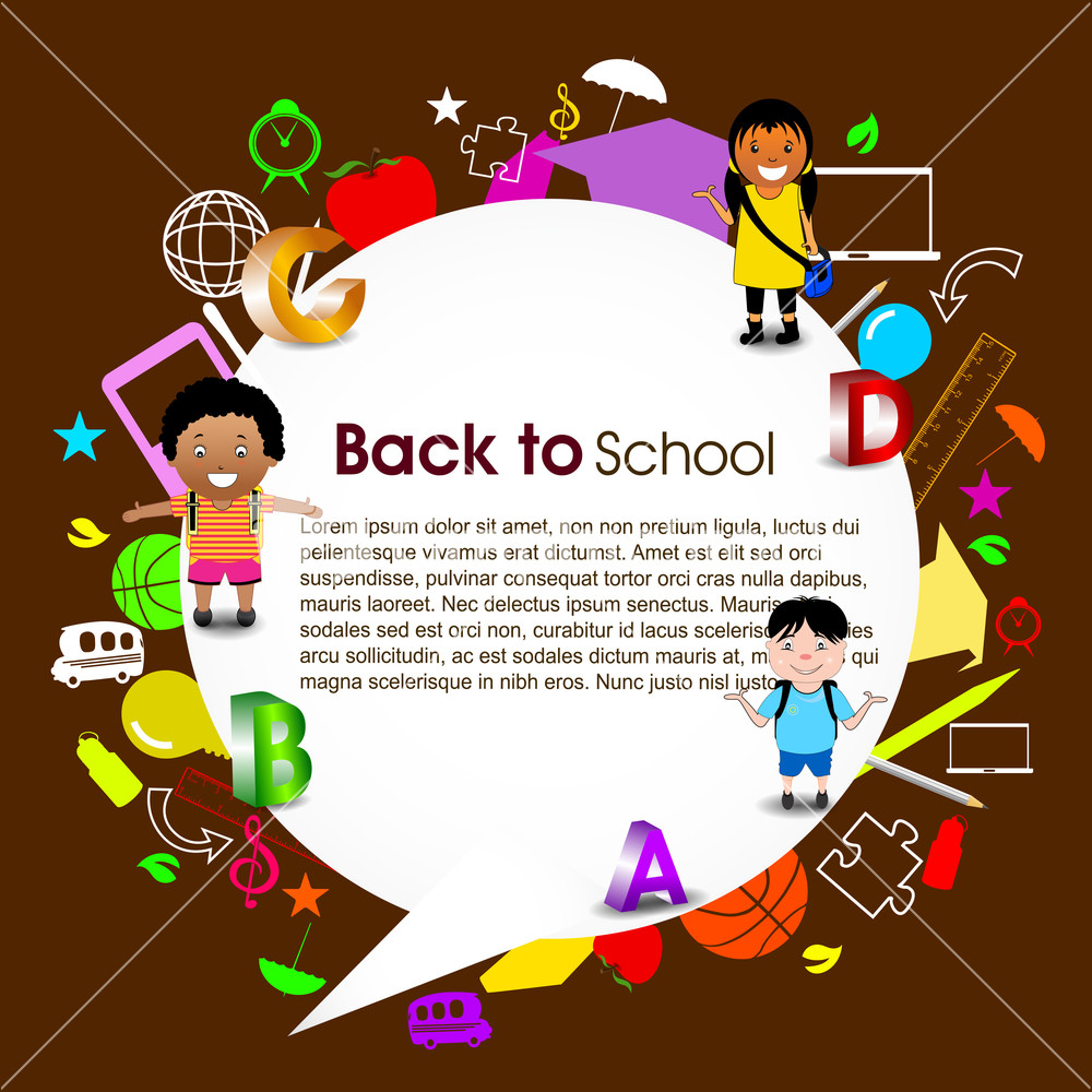 back to school background - photo #20