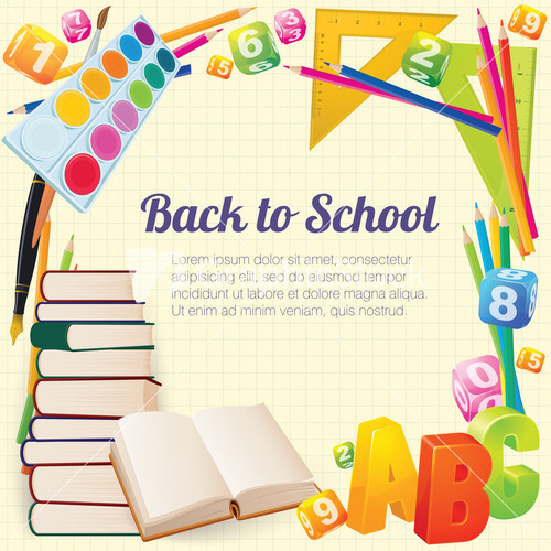 back to school vector - photo #42