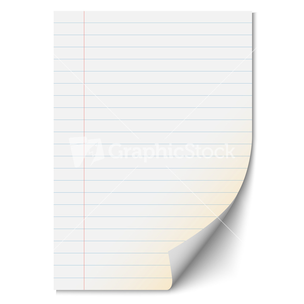 blank paper with lines
