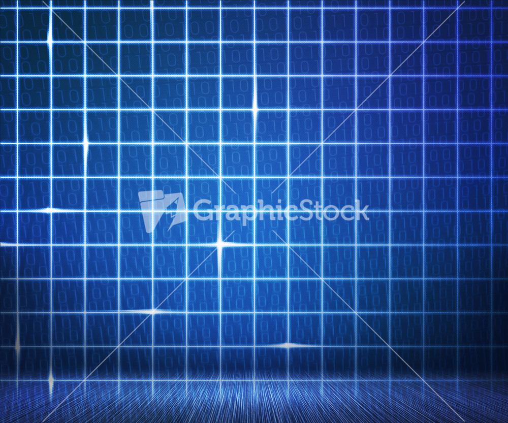 project folders graphicstock blue laser digital wall background