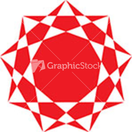 Number Names Worksheets octagon shape pictures : Geometric Abstract Shape For Design