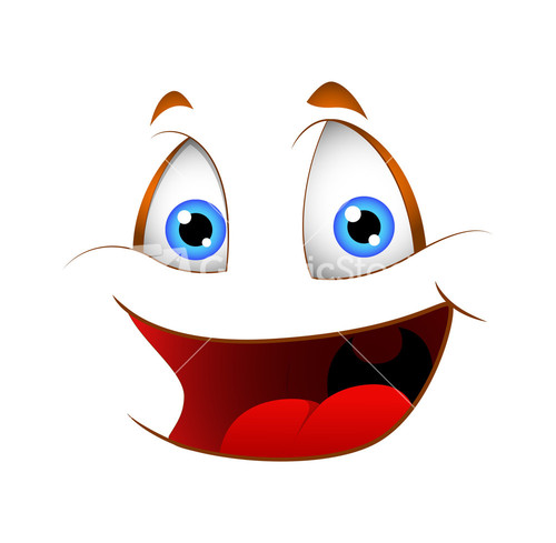 Cartoon Laughing Face | www.pixshark.com - 31.7KB