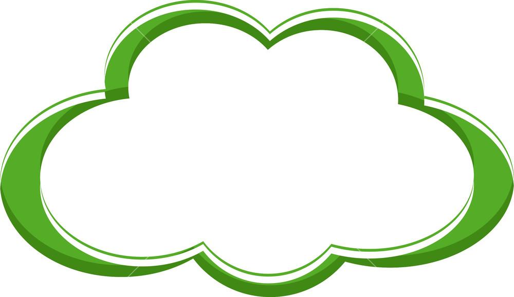 cloud frame stock image