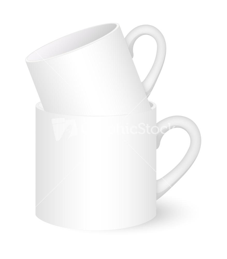 Coffee Mugs Vector