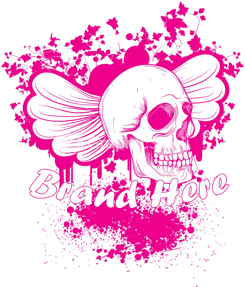 Shirt design nz - Colorful Skull Vector T Shirt Design