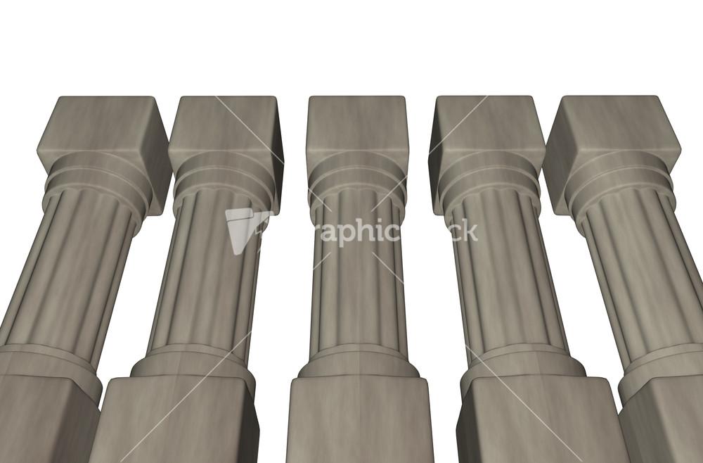 Concrete columns for Premade columns