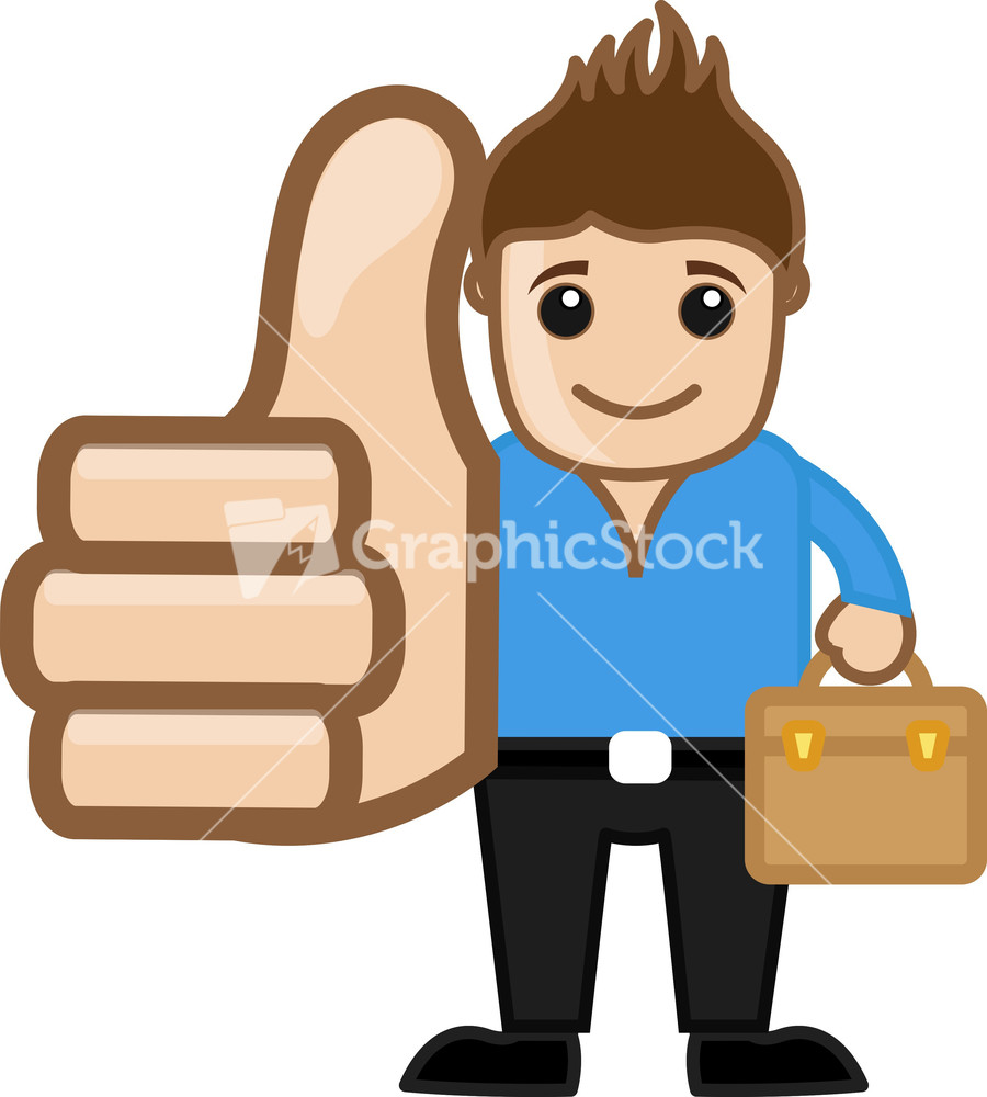 picture of cartoon thumb up