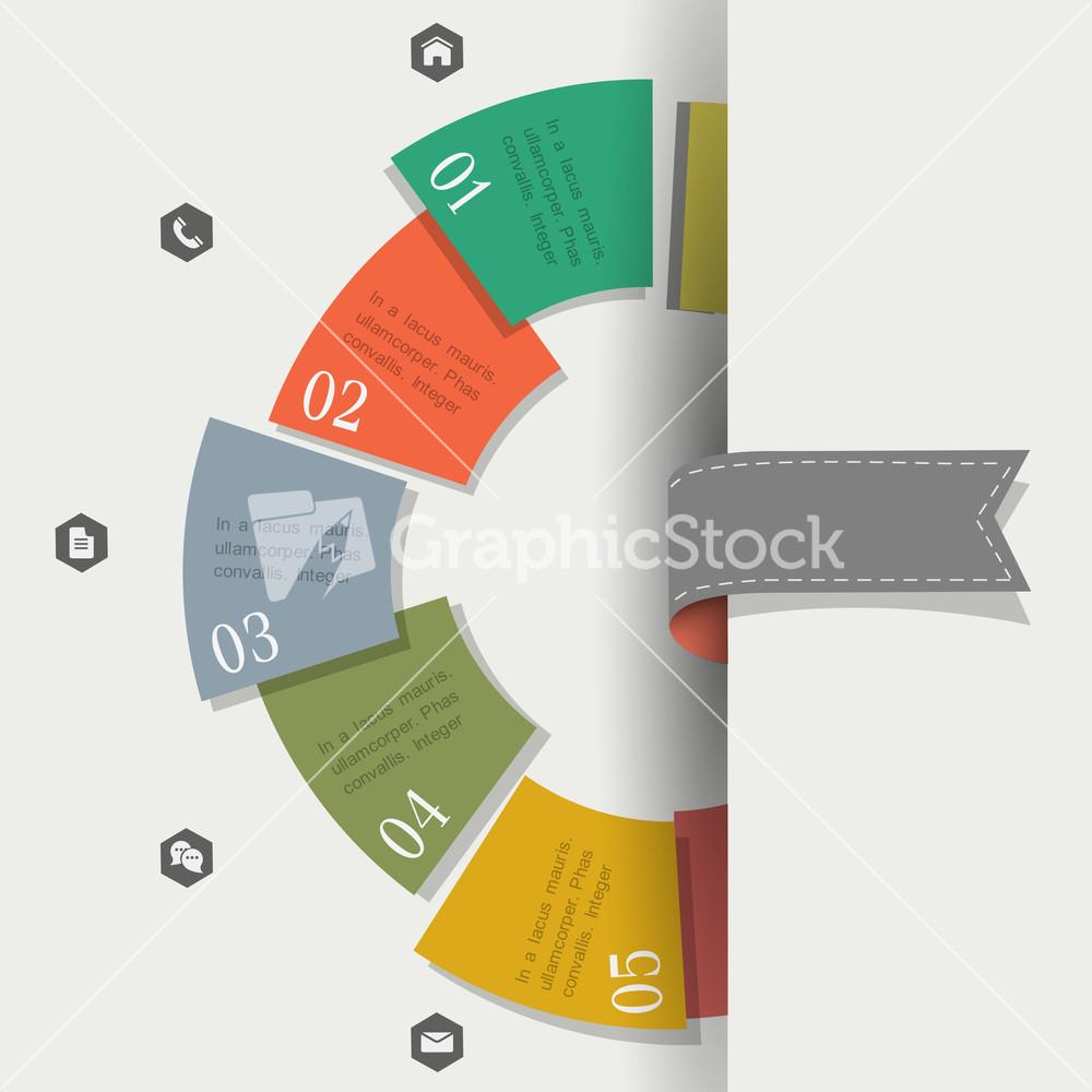 vector set of creative web design templates creative design template for infographics