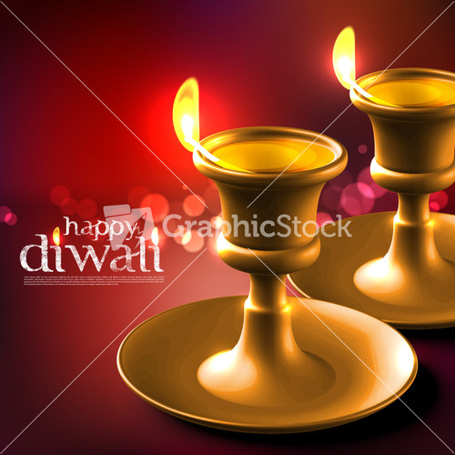 Diwali oil lamp