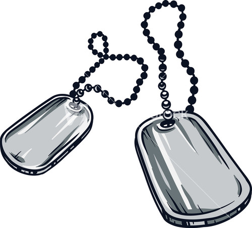 Metal Dog Tag Vector E...