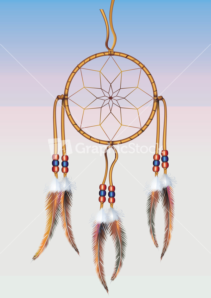 Dreamcatcher vector graphic for Dream catcher graphic