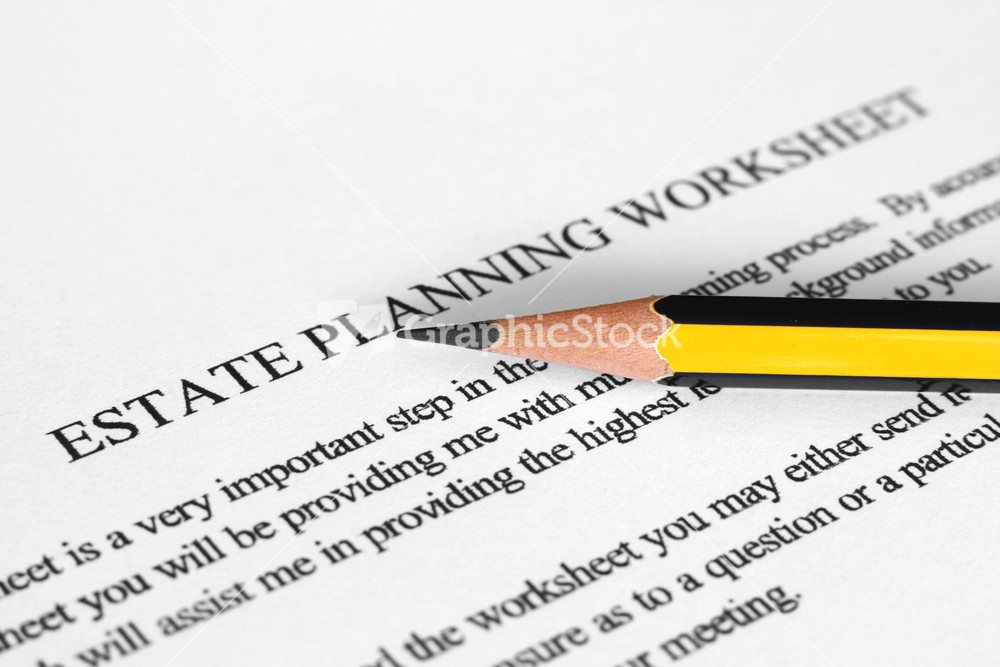 Worksheets Estate Planning Worksheet estate planning worksheet stock image