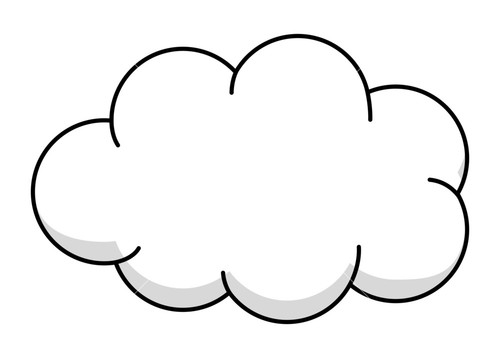 fluffy white clouds clip art � cliparts