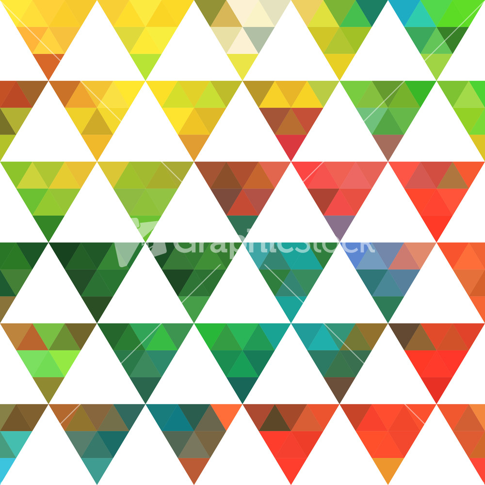 Triangle geometric pattern the image Geometric patterns
