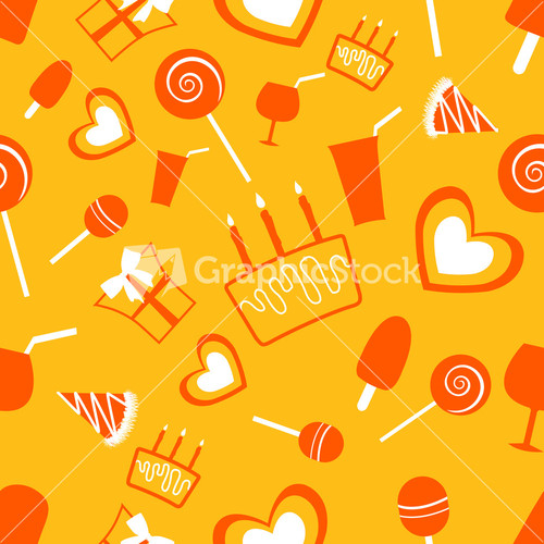 Birthday Party Background With Balloons And Happy Birthday Text