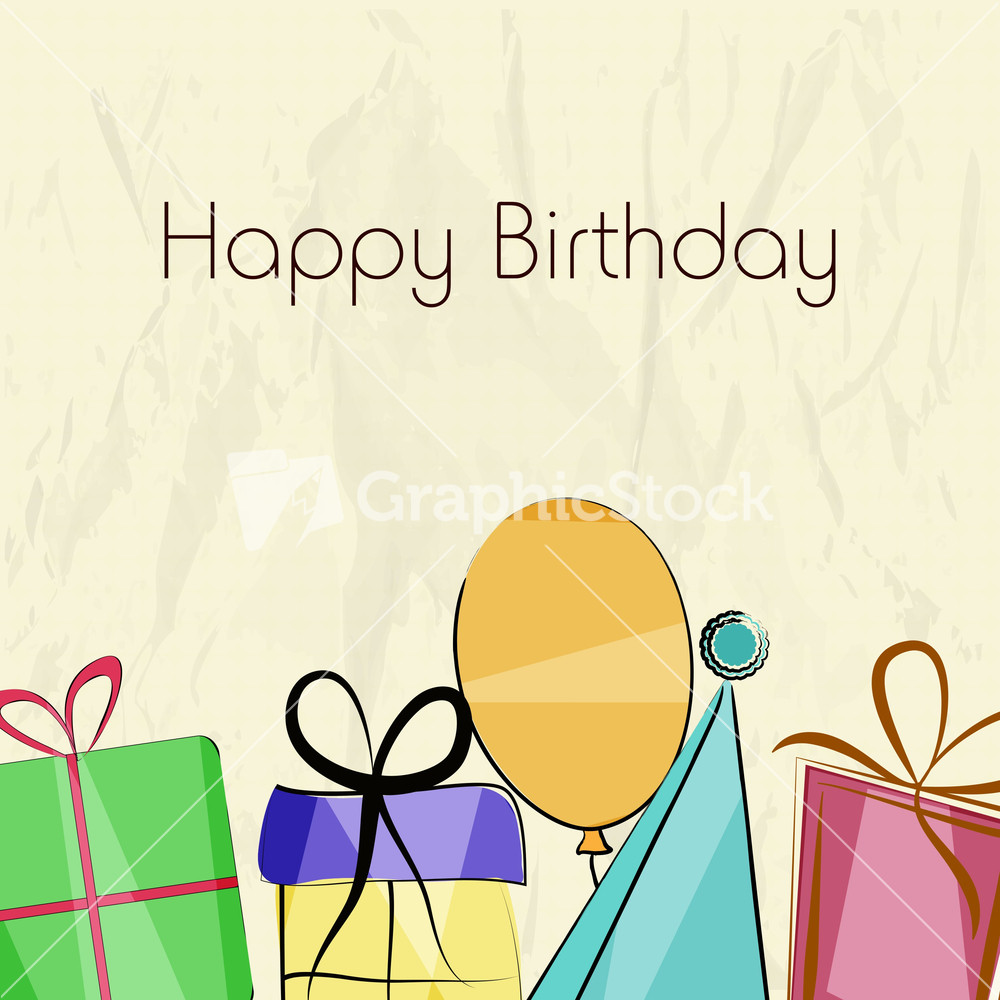 Happy Birthday Wishes With Greeting Card In Envelope On Blue – Greeting Cards Happy Birthday