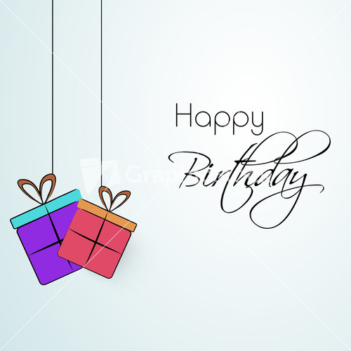 Happy Birthday Card Royalty-Free Vectors, Illustrations