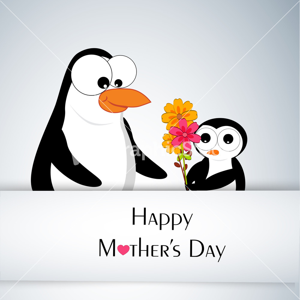 Happy Mothers Day Celebrations Greeting Card Design. Stock Image