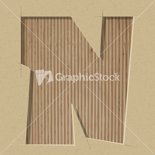 Alphabet letters and numbers printed on cardboard stock image for Alphabet letters cardboard