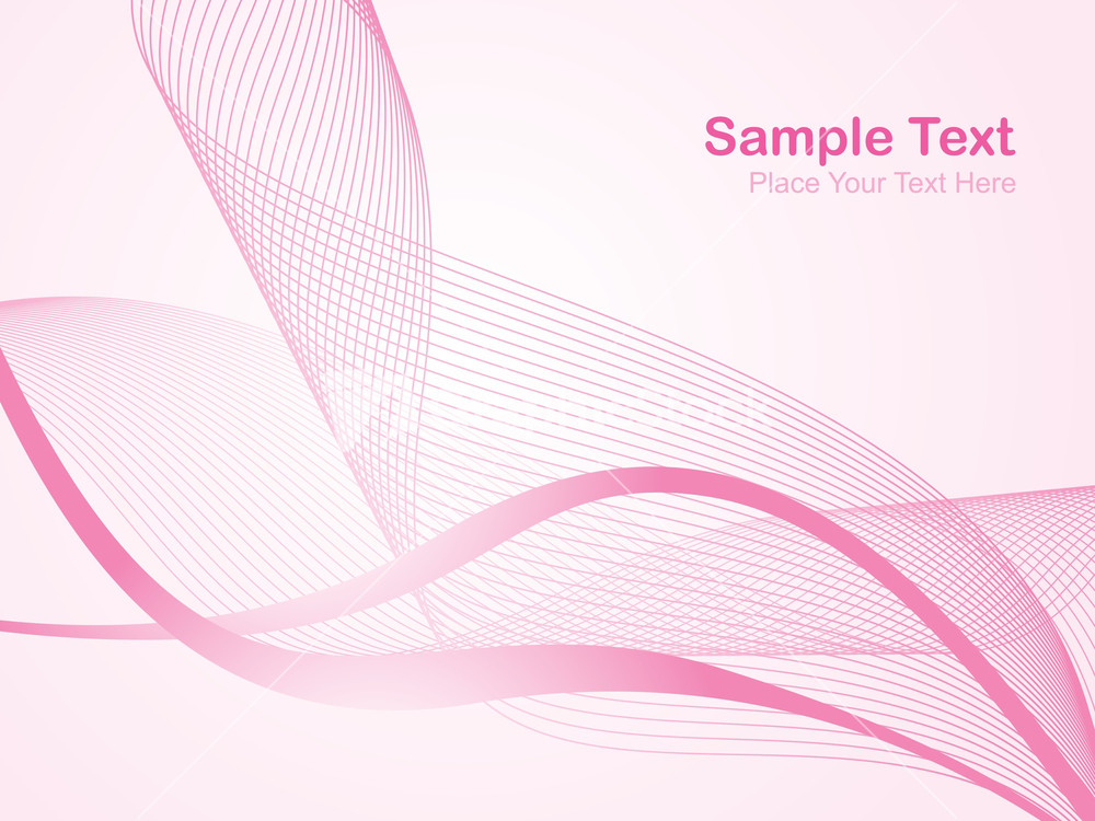 Light Pink Abstract Background. Vector