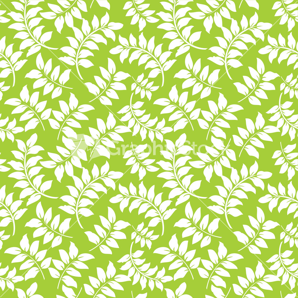 Lime Green Pattern Background