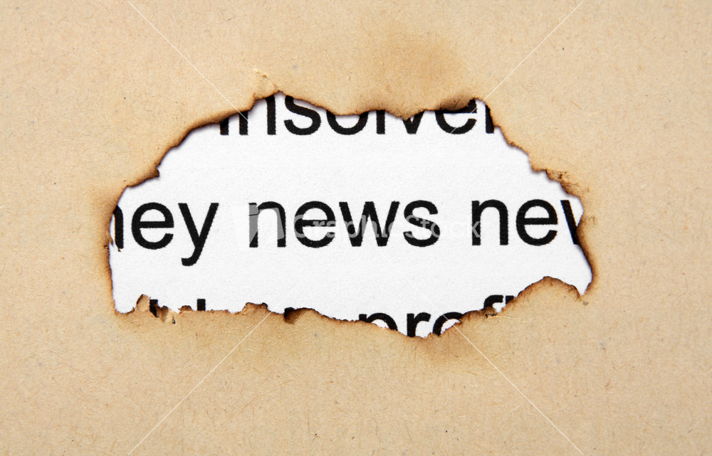 News Paper Hole