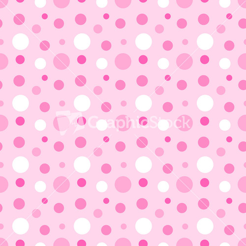 Black polka dots pattern on a pink background for Red and white polka dot pattern