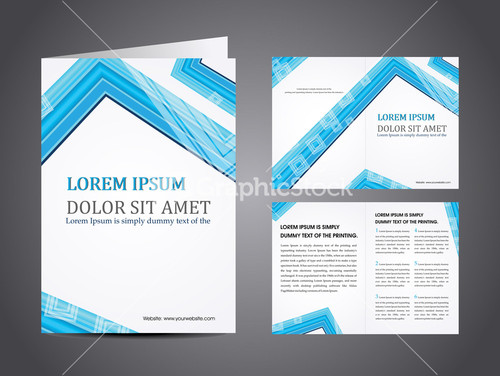 Professional Business Catalog Template Or Corporate Brochure – Professional Corporate Flyer