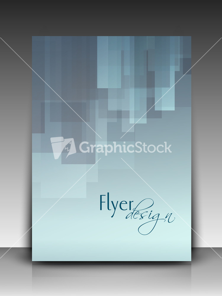 professional flyer background