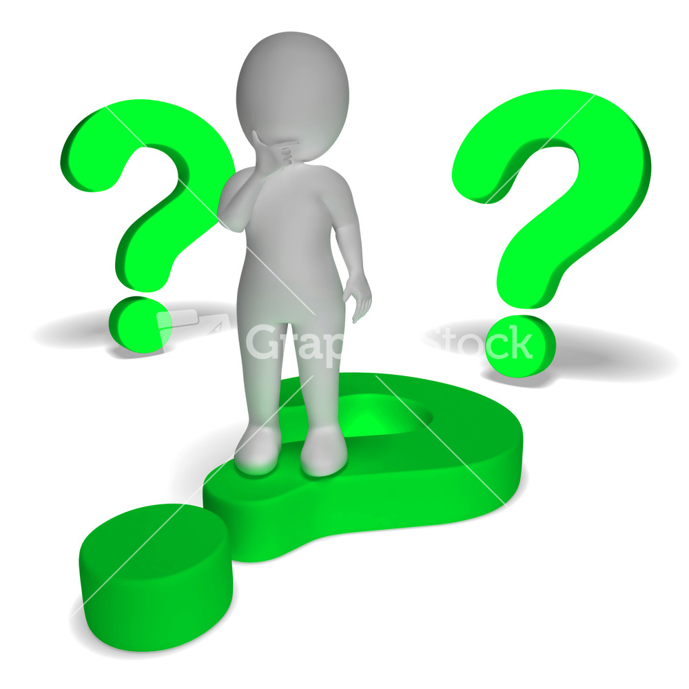Pics photos clip art cartoon scientist with question mark stock - Subscription Library Question Marks Around Man Showing Confusion And Unsure