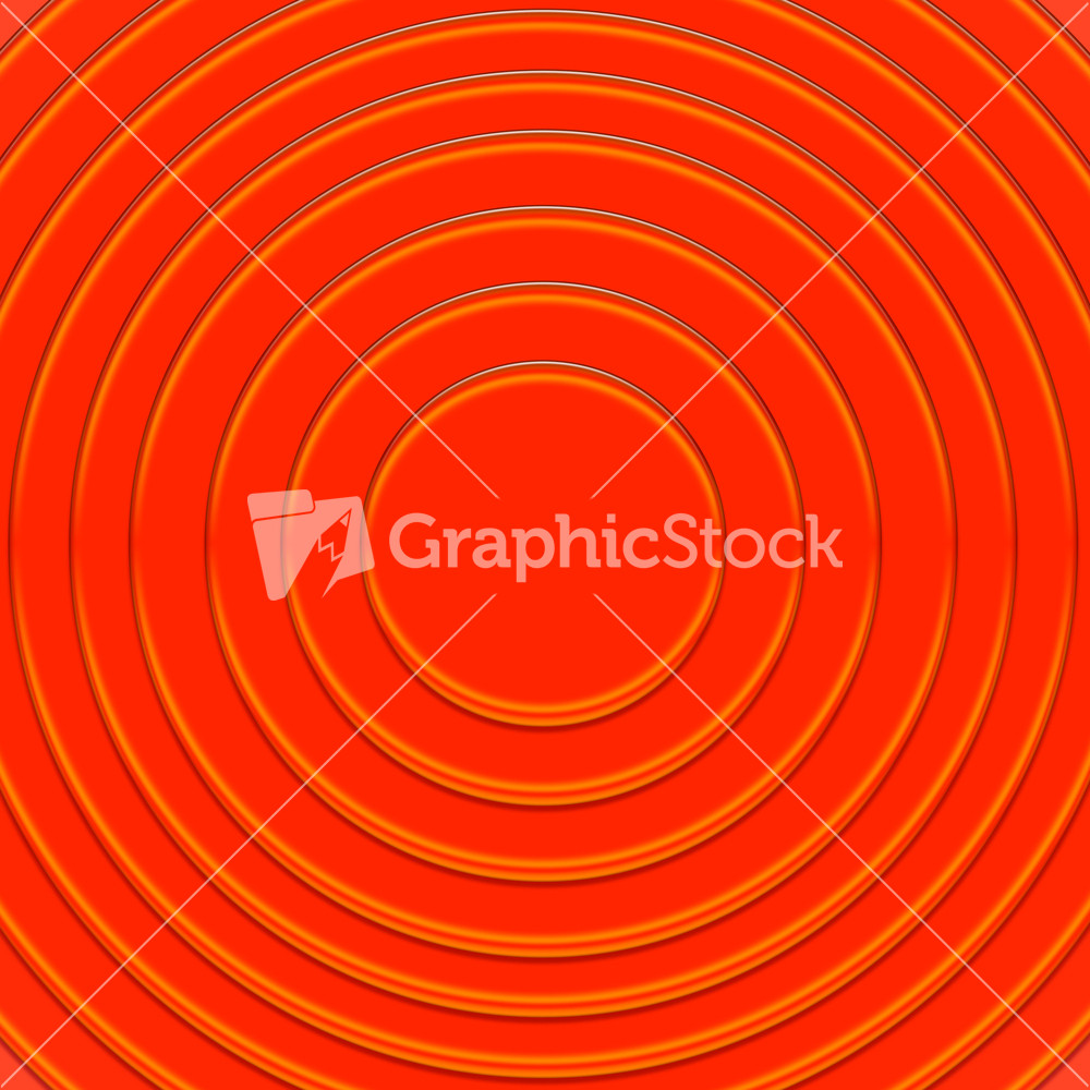 Red Circle Frames Background