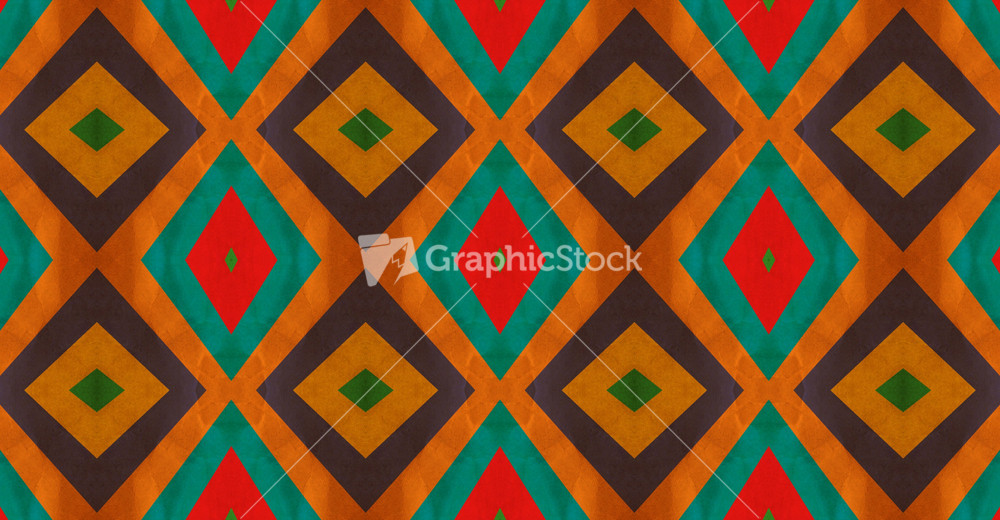 Retro Graphic Pattern Design Stock Image