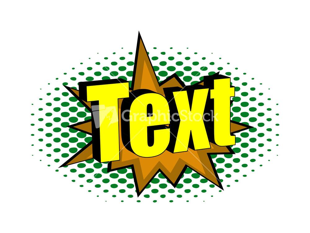 Retro text design banner - Text banner design ...