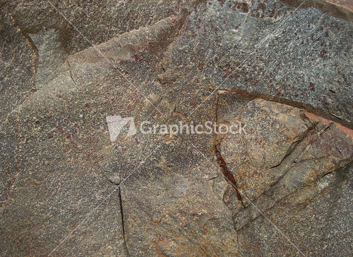 Rough surface rock