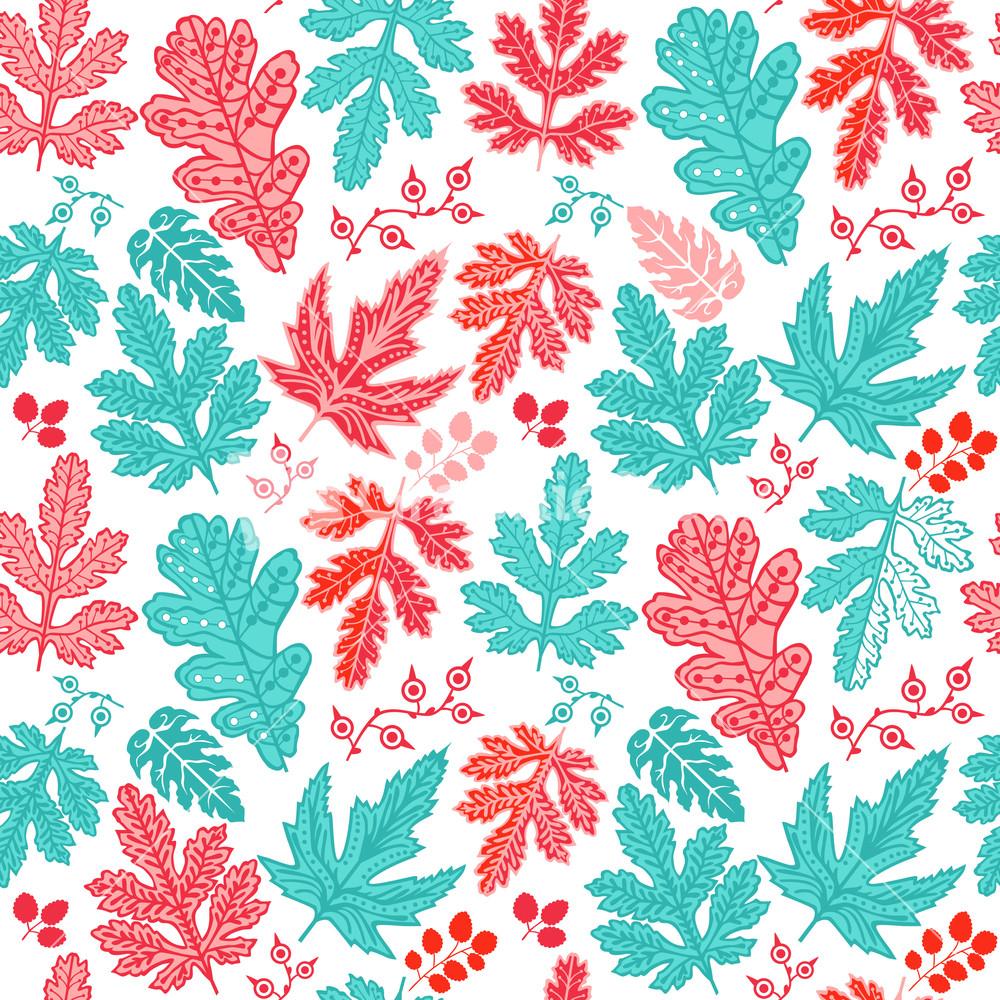 seamless leaf patternleaf background autumn seamless