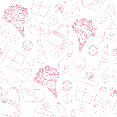 Happy women s day background with tulip flowers