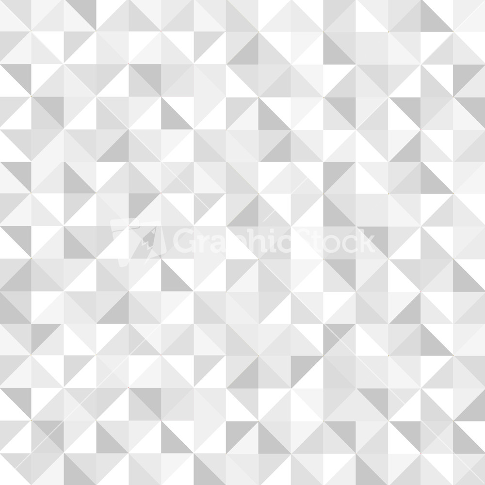Seamless White Geometric Pattern Stock Image