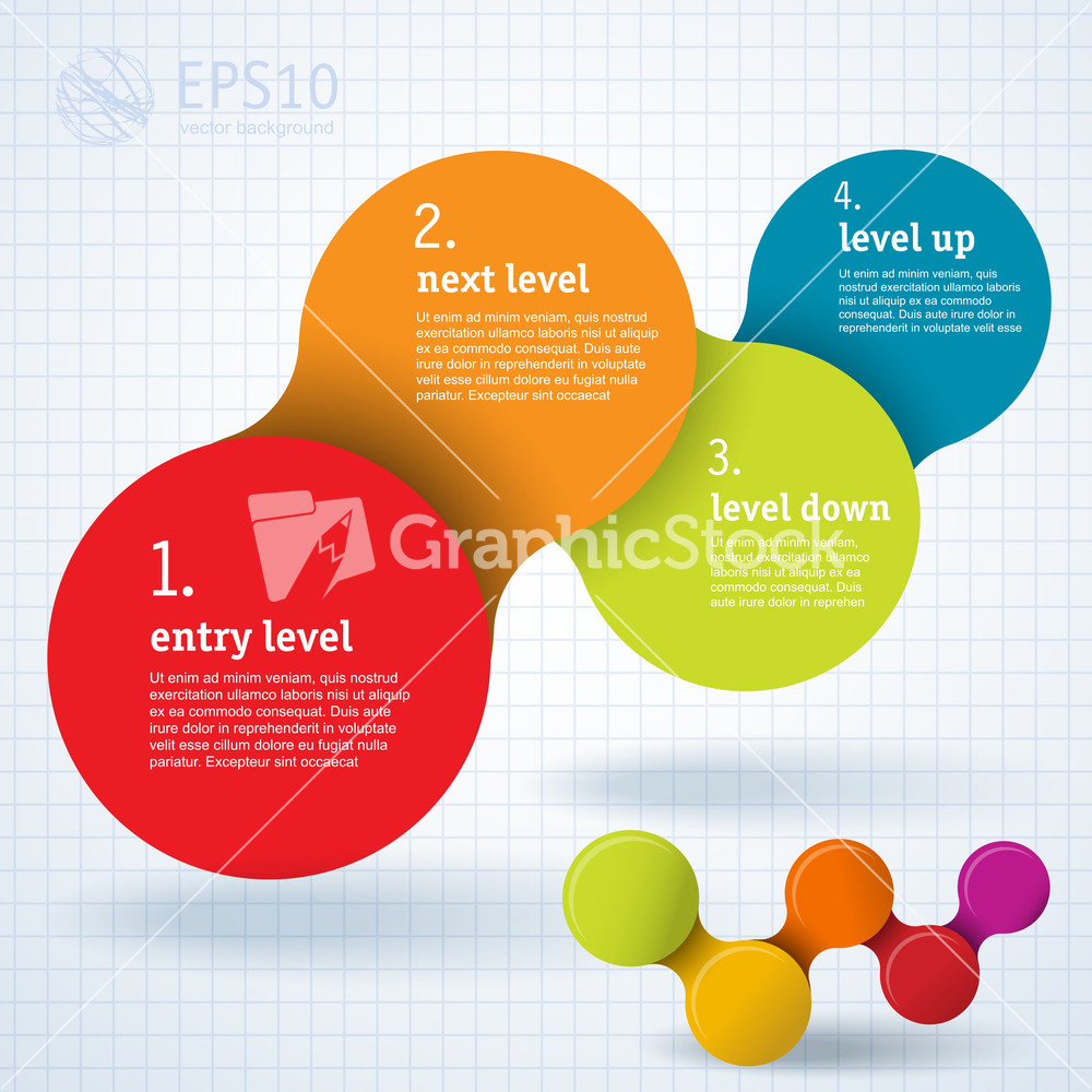 Simply Minimal Infographic Template Design. Vector. Stock Image