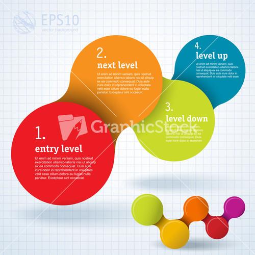 Minimal Infographic Template Design. Vector.