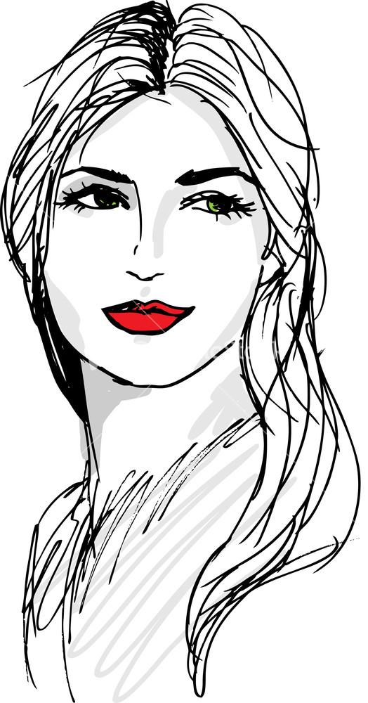 Women sketch photo 58